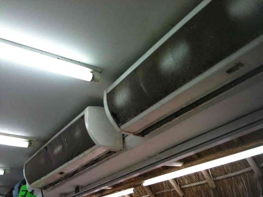 Dirty air conditioners